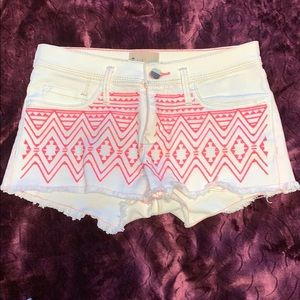 Roxy Aztec Denim Short Shorts